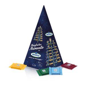 Karton-Adventskalender Weihnachtspyramide Ritter SPORT