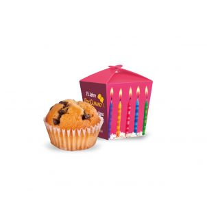 Muffin Mini in Promotion-Verpackung Style, Klimaneutral, FSC®