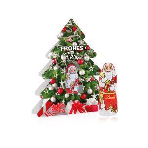 Weihnachtsbaum mit Nikolaus